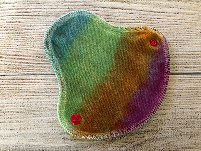 """ONE 5.75"""" Halfwrap Reusable Cloth Pad for Very Light Flow"""