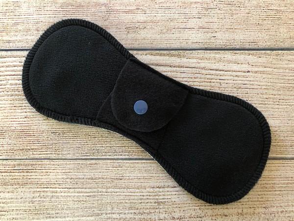 "ONE 8"" Contoured Reusable Cloth Pad for Light Flow"