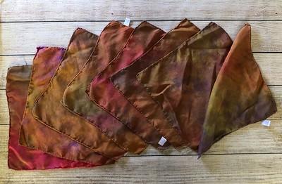 ONE Hand Dyed Silk Handkerchief