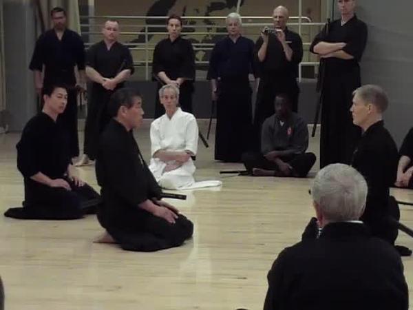 Ito Sensei Instruction of Mae