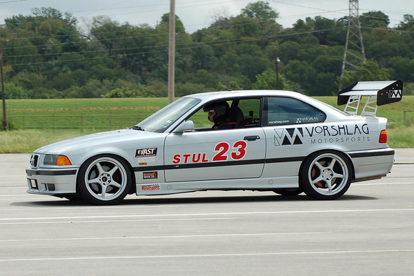 APR GT-II wing in action on the Vorshlag STU classed E36 M3.