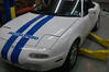 Jerret's car in EStock form (Konis with OEM springs)