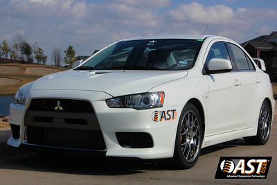 AST 4200 Install for EVO X
