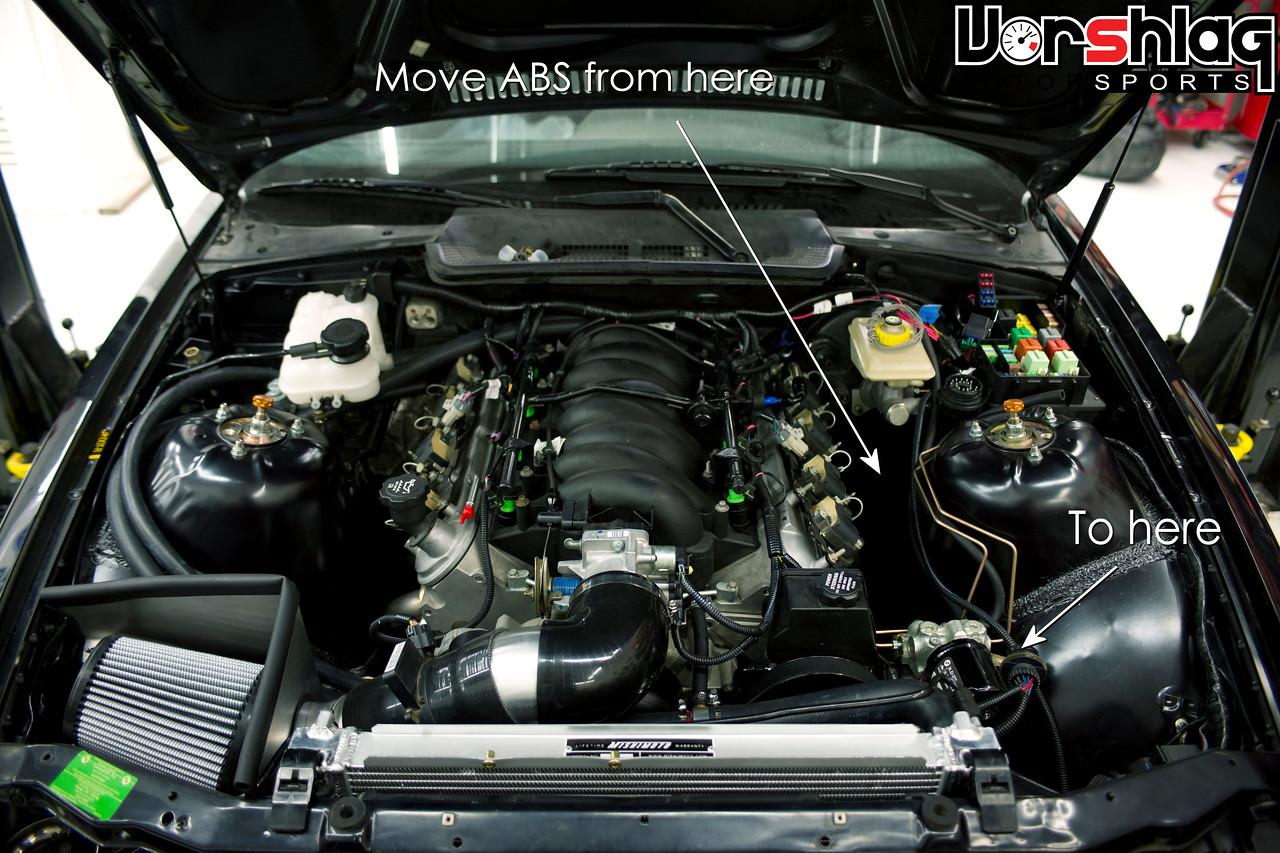 E36 LS Swap - ABS Relocation Kit instructions - Vorshlag