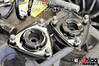 This is the OEM upper spring perch and strut top mount assemblies, removed from the strut assembly.
