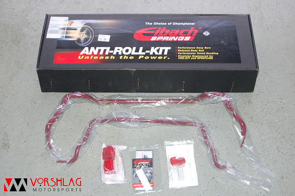 Eibach packages each swaybar set with new poly mount bushings, lube, and instructions.
