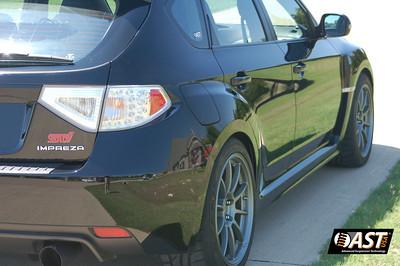 Subaru GR (2008 STI) AST installation