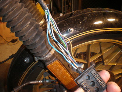 Instrument loom changeover