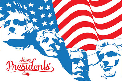 Happy,President's,Day,Design,Background,With,Usa,Flag,And,Mount
