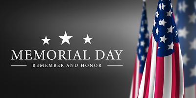 Happy,Memorial,Day,Grey,Background