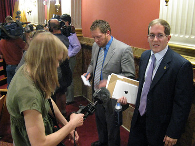 Interview with Rep. Mark Ferrandino, lead sponsor of the bill in the House. Efforts toward GLBT equality will continue and we know that ultimately justice will prevail.