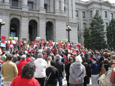 Noon Thursday, 3/31/11. .. A large rally in support of the Civil Union Act on the west steps of the Capitol.