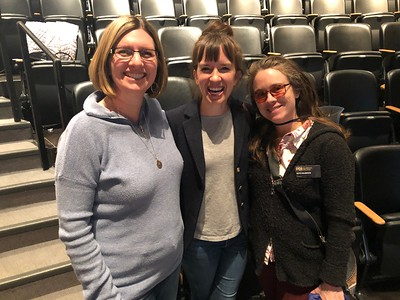 Campus ministers: Robin at UCCS, and Anna and Kate at CC.