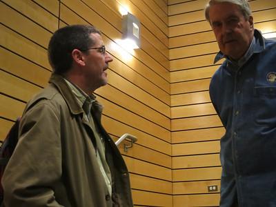 Glenn Stanton on left, Director for Family Formation Studies at Focus on the Family.