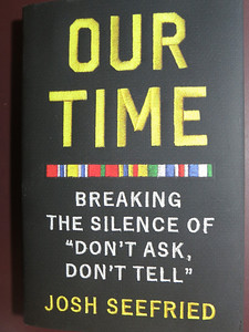 Jeff showed a copy of this book. ... His story is included among 46 told by active and former service members.