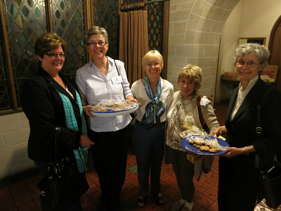 PFLAG board hostesses and supreme cookie-makers.