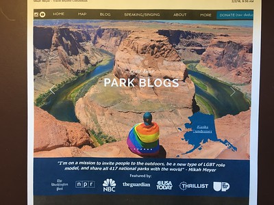 Check out Mikah's quest to be the youngest person to visit all 417 national parks & monuments.  .. He 's now 2/3's done!  .. Website below: