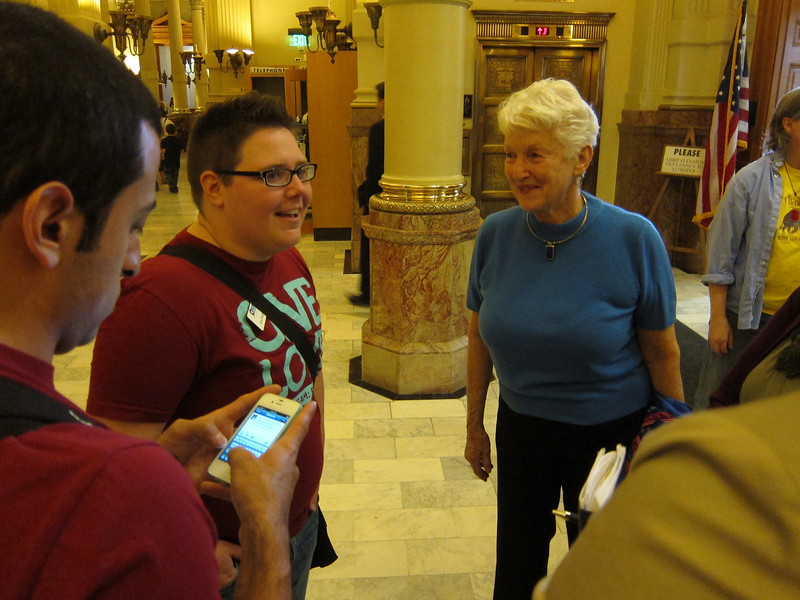 We felt our morning at the Capitol had been spent productively - at least we had been heard.