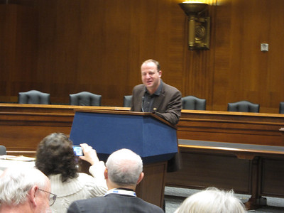 US Representative from Colorado: Jared Polis, who is partnered - and recently the first gay parent in Congress!