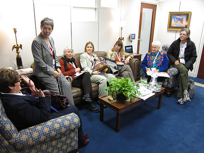 PFLAG Colorado contingent in office of Senator Mark Udall.