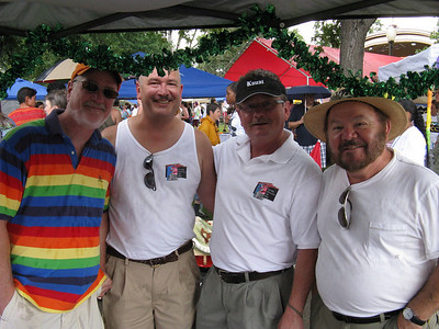 Integrity/Denver visitors. .. The Denver chapter had its own booth at the two-day Denver PrideFest in late June.