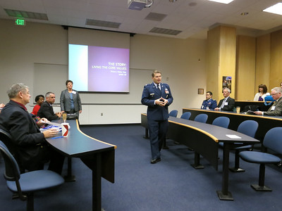 Introduction by Col Gary Packard, Head of the Behavioral Sciences & Leadership Dept.