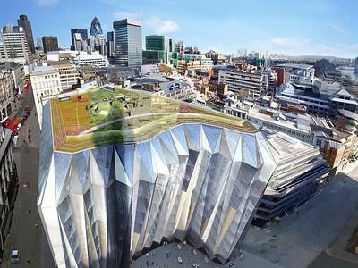 'Sundial' The Monument Building, London