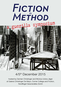Fiction As Method