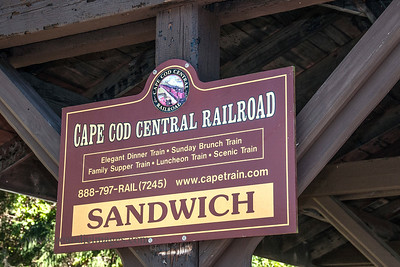 Sandwich Railroad Station, MA