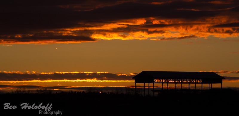 Sunrise in Ardrossan