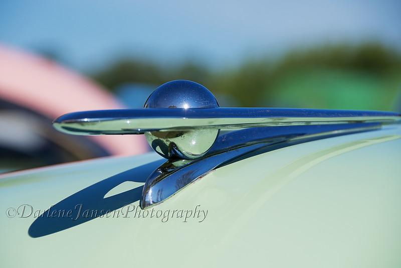 55 Packard Super Clipper Hood Ornament