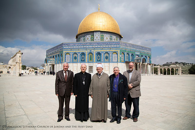 Churches Visit Heads of Islamic Waqf in Jerusalem