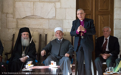 Heads of Churches Visit Grand Mufti and Islamic Waqf in Jerusalem