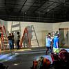 Pulp Theater Set Construction 2020-1