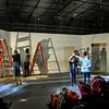 Pulp Theater Set Construction 2020-9