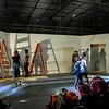 Pulp Theater Set Construction 2020-4
