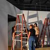 Pulp Theater Set Construction 2020-19