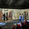 Pulp Theater Set Construction 2020-3