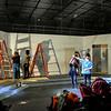 Pulp Theater Set Construction 2020-7
