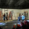 Pulp Theater Set Construction 2020-5
