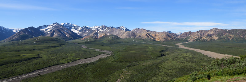 Polychrome Pass Overlook, Denali