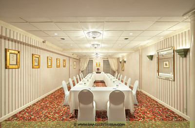Meeting Room at Hotel Monticello - Georgetown, Washington DC, Interior Architecture Photography