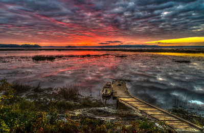 Merrymeeting Bay Sunrise