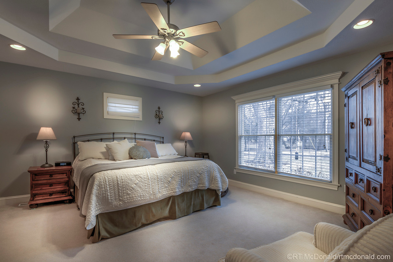 Residential bedroom, Springfield, IL