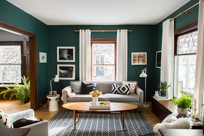 Alison + Jeff's Living Room