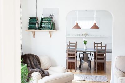 Jaimee + David's Living Room