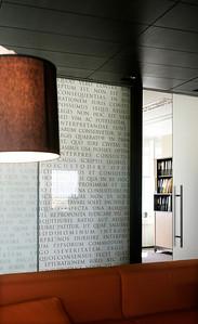 Advokaadibüroo Paul Varul Tallinn office, designer Martin Pärn