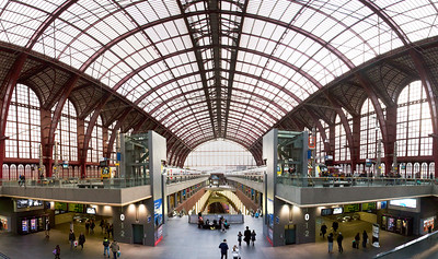 Antwerp central station, Middenstatie