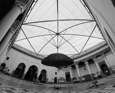 Inside the Marrakech museum