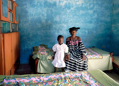 interieur Senegal 1996 copyright: Katrien Mulder